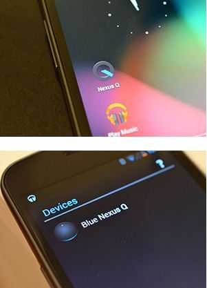 Nexus Q new gig played by Google
