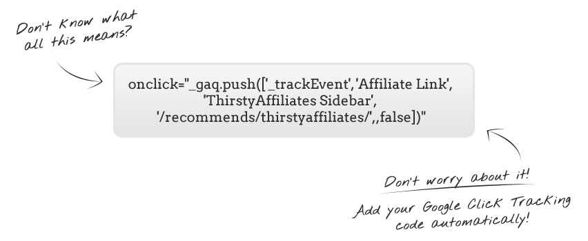 ThirstyAffiliates Google Click Tracking Add-on